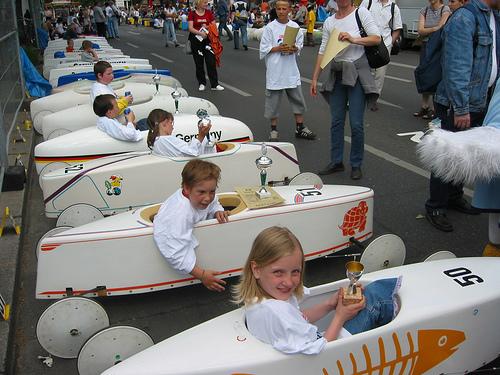 Kinder im Wettbewerb - Bild: Schockwellenreiter