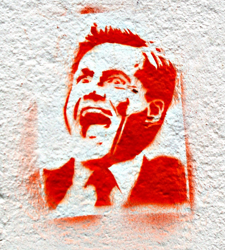 Grafitti: Dieter Bolhen Icon