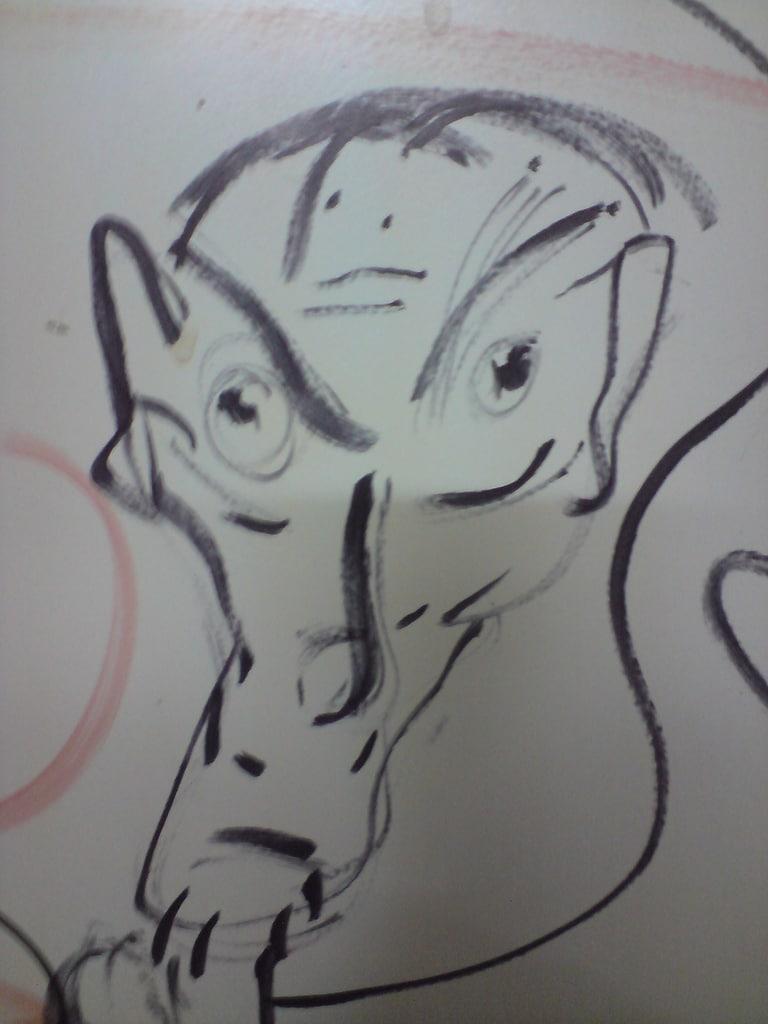 Graffiti Gesicht