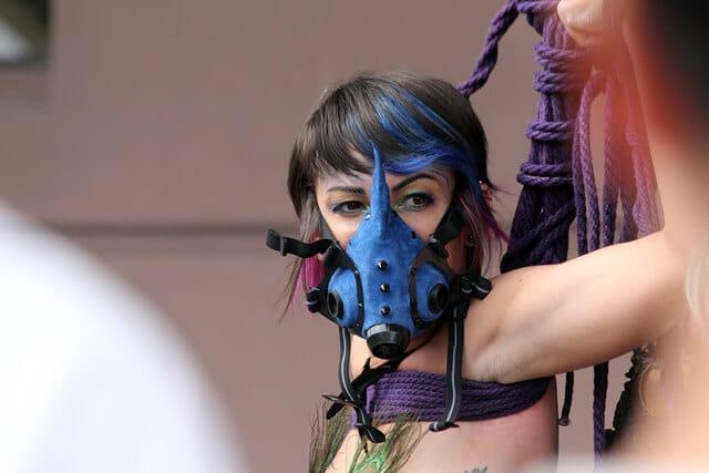 Aufgehängt als BDSM-Ritual