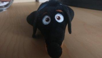 Hund Dotti - Stofftier Familienhund