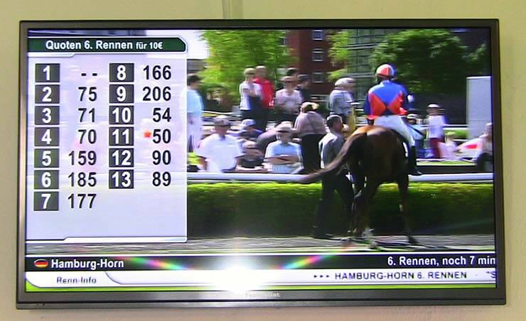 Sportwetten und Pferdewetten bedeuten Suchtgefahr