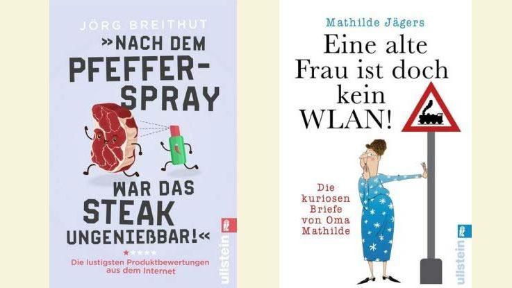 Zwei lustige Bücher von Ullstein