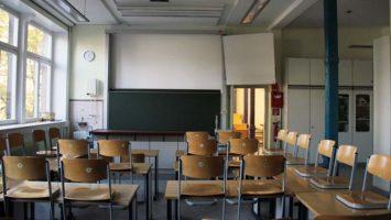 Alter Klassenraum in unserem Schulsystem
