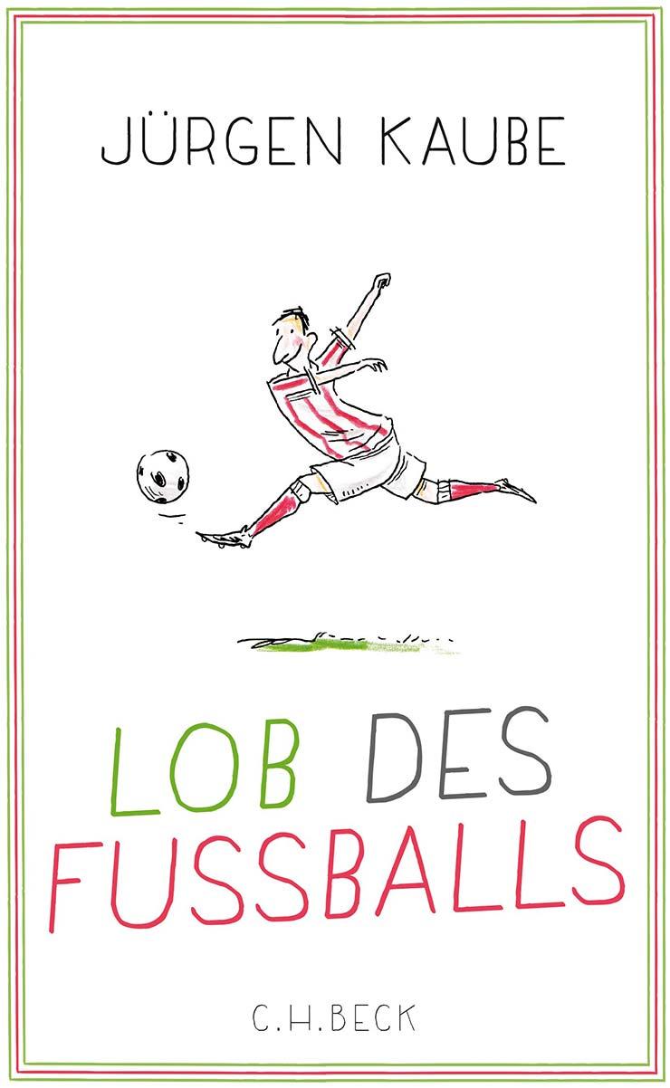 Buchcover Lob des Fußball