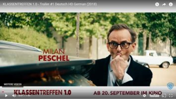 Klassentreffen 1.0 Trailer-Ausschnit mit Milan Peschel auf Youtube