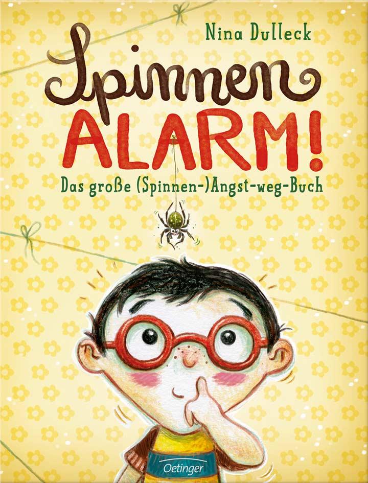 Buchcover: Spinnen-Alarm