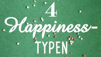 Buchcover: Die 4 Happiness-Typen