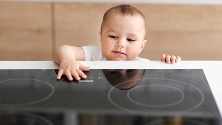 Auch die Küche kindersicher machen
