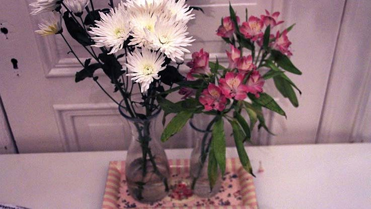 Ensemble Blumenvasen