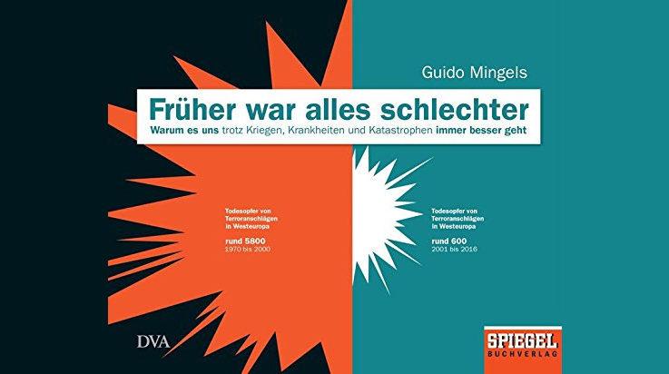 Cover rüher war alles schlechter von Guido Mingels