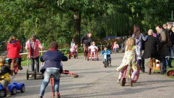Kinder haben Lust an der Bewegung