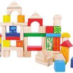 Günstiges Kinderspielzeug: Holzblöcke