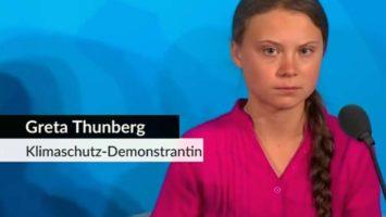 Greta Thunberg: Rede vor der UNO auf Youtube