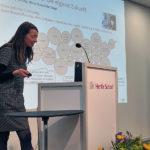 Dr. Silke Borgstedt trägt soziologische Studien zum Thema Väter und Beruf vor