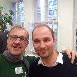 Der Autor mit Carsten Vonnoh (Väter in Verantwortung)