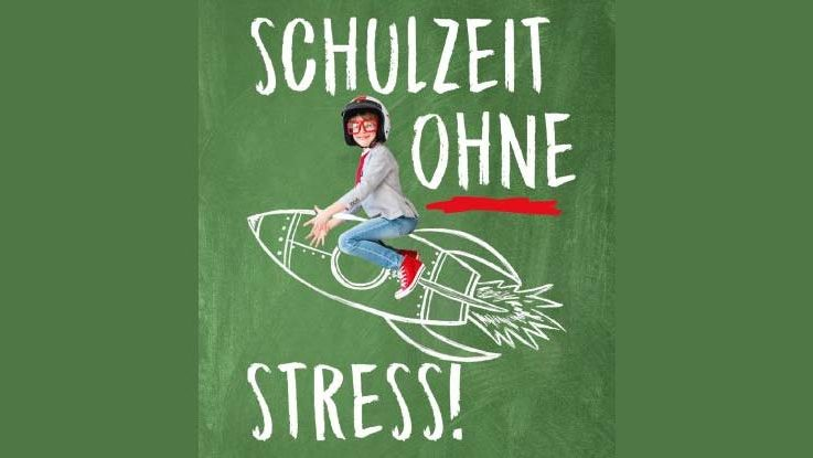 Buchcover: Schulzeit ohne Stress