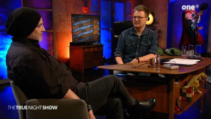 Screenshot aus der ARD-Mediathek: Zwei Comedians auf ONE über ihre Depressionen